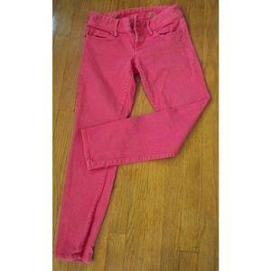 Lily Pulitzer worth skinny mini jeans